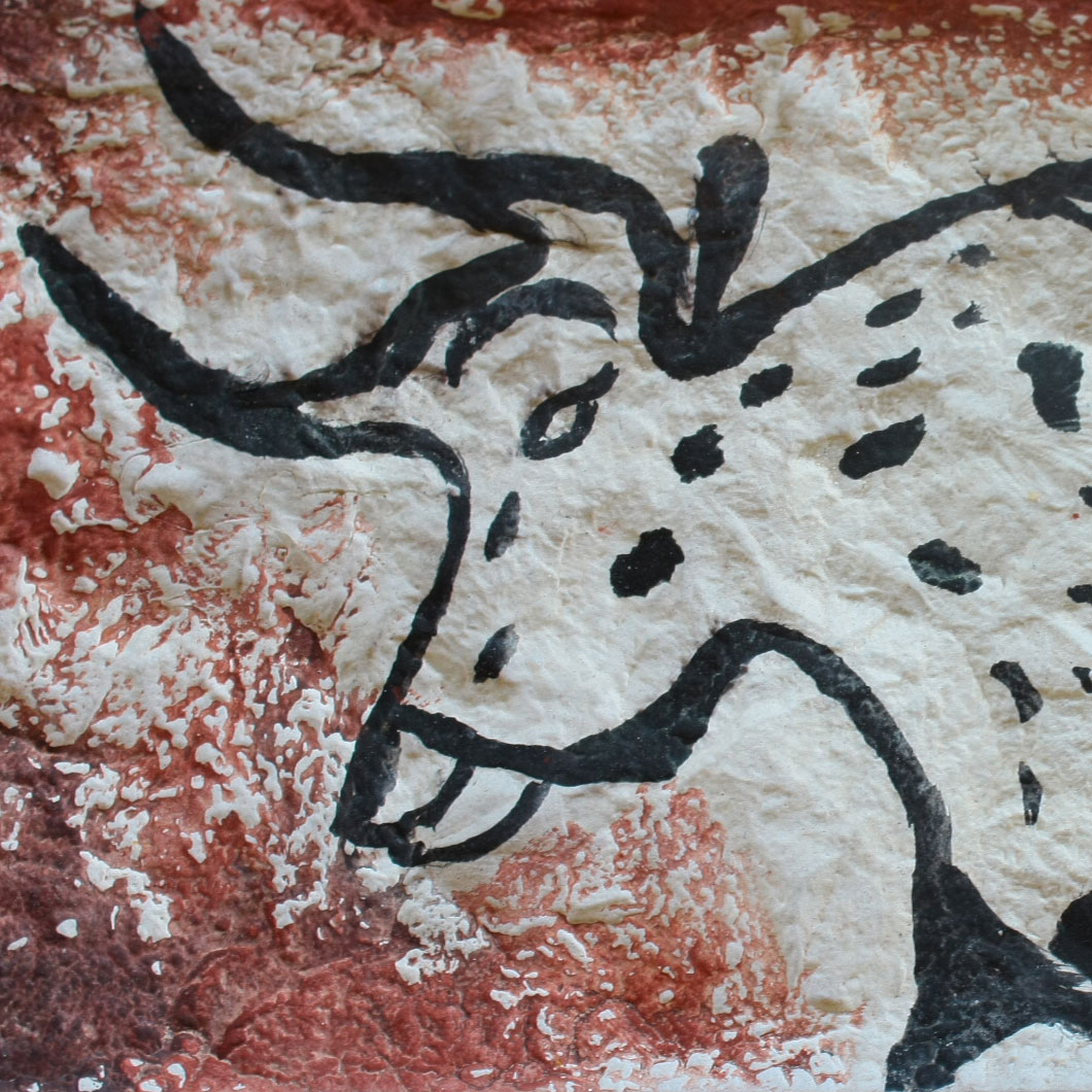 Atelier art pariétal - Reproduction d'un bison de Lascaux